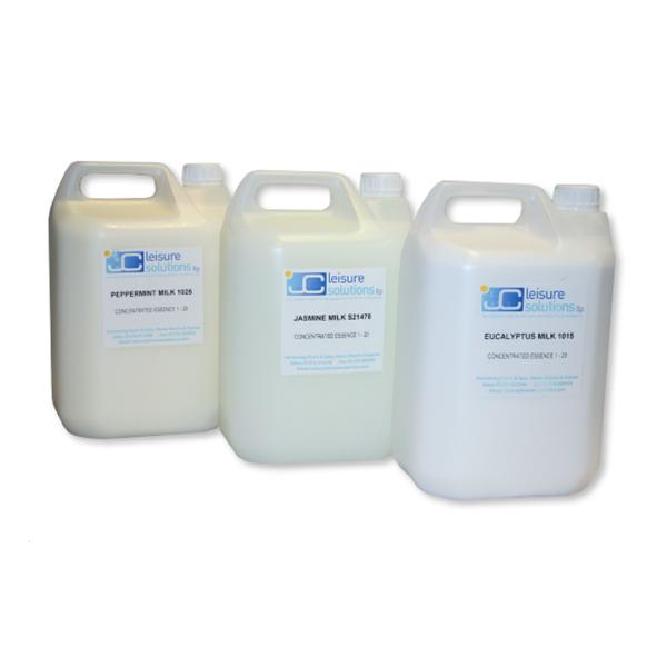 Steam Essence Milk Bottles