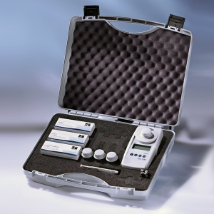 Pool control photometer test kit