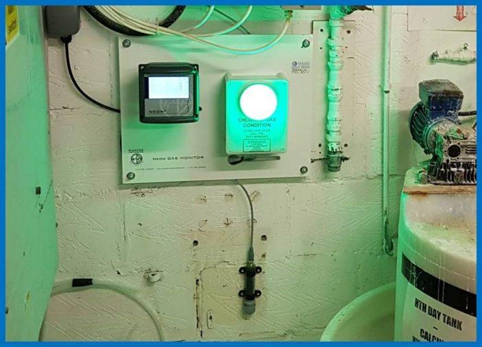 chlorine gas alarm